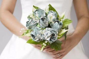 Поздравление на свадьбу (прикольные) с вручением денег