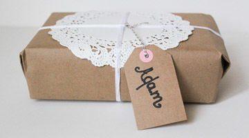 Как красиво завернуть мужской подарок