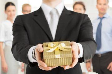 Корпоративные подарки на новый год 2019