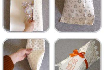 Как сделать красивую упаковку подарка