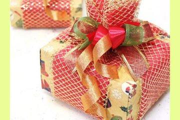 Декорирование подарков своими руками