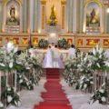 Что делать после венчания с венчальными свечами, рушником