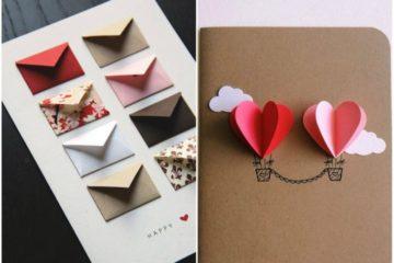 Открытки своими руками - идеи для поздравительных открыток