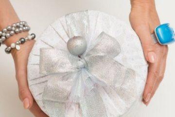 Как упаковать круглый подарок - оригинальные идеи для любого случая » My Diy Ideas