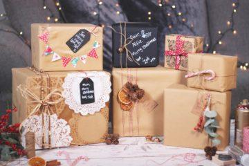 Как упаковать подарок очень быстро
