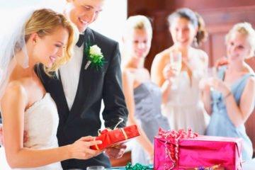 Оригинальный подарок из денег на свадьбу молодоженам   фото