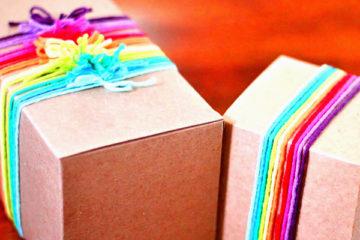 Как интересно упаковать подарок мальчику
