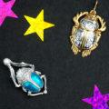 Золотой кулон : украшение для женщин из белого золота с бриллиантом, женские модели в виде ключика