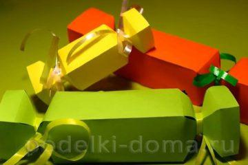 Как упаковать развесные конфеты в подарок