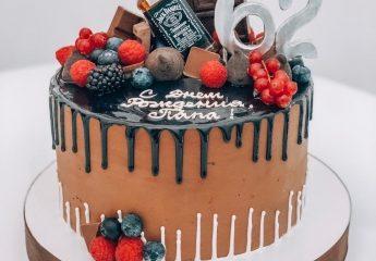 Торт для мужчины на день рождения в Москве | Стильные и оригинальные