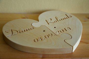 Приятные и удивительные подарки на деревянную свадьбу |