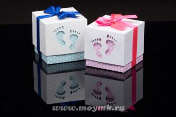 Подарок новорожденному: что можно сделать своими руками