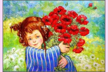 Авторская картина в подарок женщине, мужчине. Картины на холсте маслом в подарок на день рождения, свадьбу. Картина в подарок маме, другу или подруге