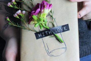 Как красиво упаковать подарок в подарочную бумагу своими руками - фото оригинальной упаковки подарков