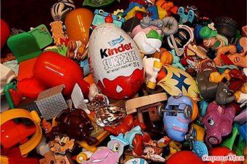 Подскажите, пожалуйста, как храните коллекции игрушек Киндер. - Поделки - Страна Мам