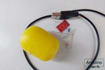 Ночник с сенсорной кнопкой из Киндер Сюрприз - diy.