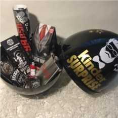 Черный киндер сюрприз для настоящего мужика — купить в Москве в интернет-магазине