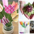 Цветы из бумаги своими руками - больше 70 вариантов - Коробочка идей и мастер-классов