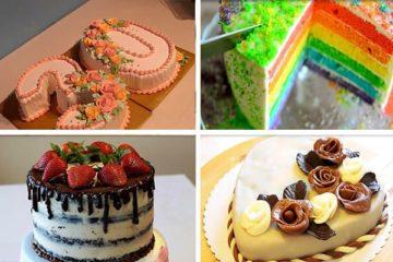 Как украсить праздничный торт свечами ▶️ Sevenmart
