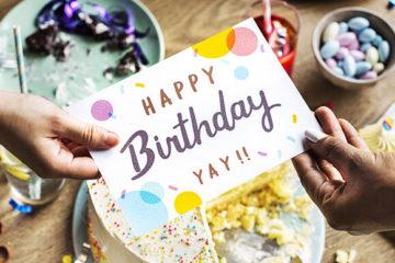 Лучшие идеи для поздравления с Днем Рождения